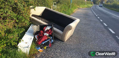 Reports of incidents of illegal dumping rocketed by almost 350% percent since the first lockdown compared to before the Coronavirus pandemic.