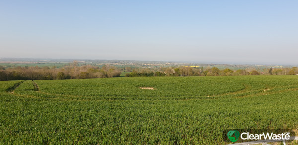 Keeping our beautiful Kent countryside clear from fly tipping