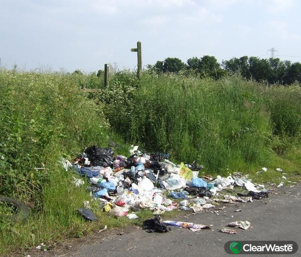 Image from: 'Man creates fly-tipping app ClearWaste.com - Hillingdon and Uxbridge Times.'