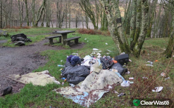 Image from: 'Fly-tipping increases by 80 per cent in wake of coronavirus lockdown'