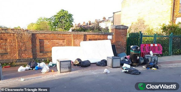 Image from: 'Local councils have scaled back on bin collections'