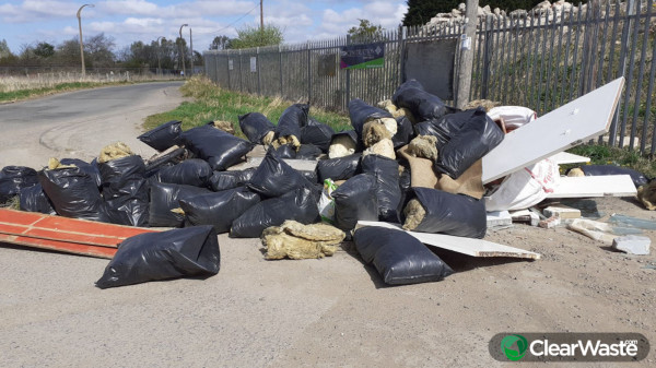 Image from: 'Flytipping has exploded since the start of the coronavirus lockdown, according to an application created to combat illegal fly-tipping'