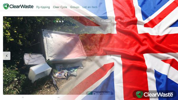 Image from: 'Speeding and garbage dumping surge after UK corona blockade'