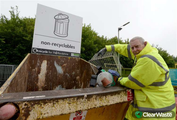 Image from: 'Government tells Herts and Essex county councils to reopen recycling centres 'as a priority''