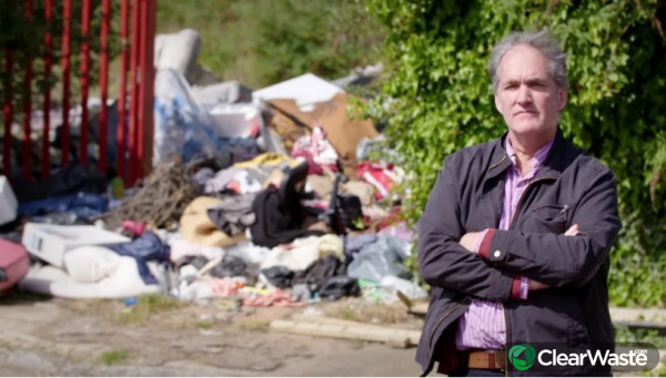 Image from: 'Fly Tipping: Britain's Lockdown Problem - Tonight'