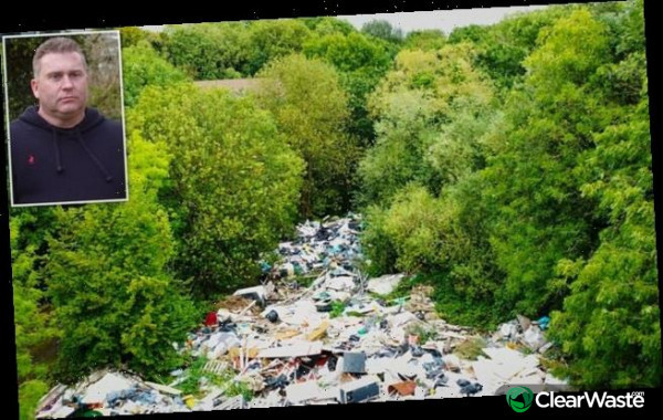 Image from: 'Local authority spends £150,000 removing waste from suburb'