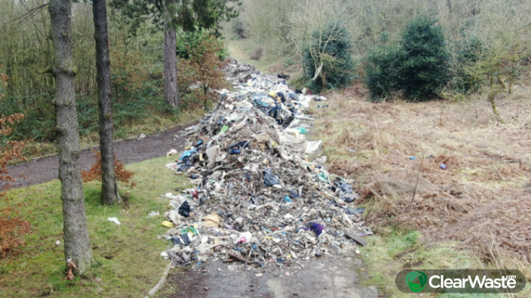 Image from: 'Fly-tipping has increased 300% in some areas during lockdown due to the coronavirus pandemic'