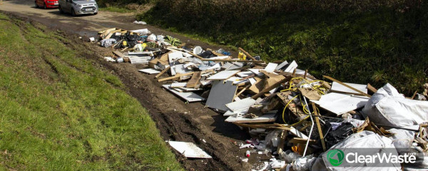 Image from: 'Fly-tipping is still out of control across much of the UK'