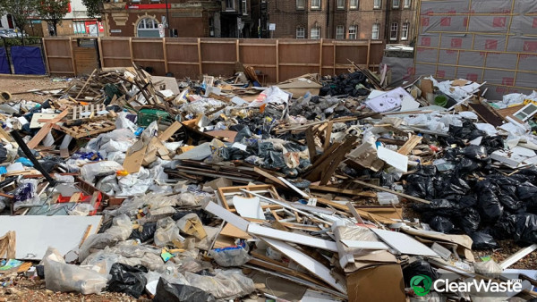 Image from: 'Lockdown results in a massive increase in fly-tipping incidents'