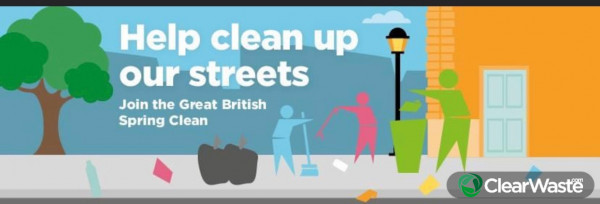 Cleaning up your area to make a better environment for all (hopefully 😄👍)